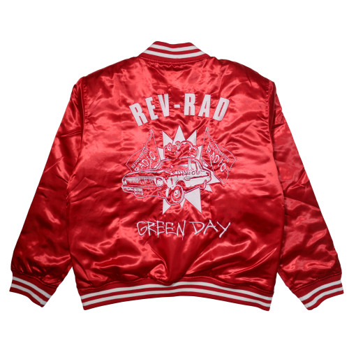 Green Day - Rev Rad Rose Bowl jacket