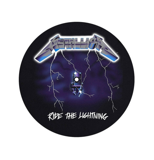 Metallica - Ride The Lightning Turntable Slipmat
