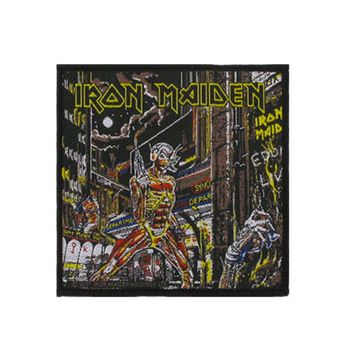 Iron Maiden - Somewhere Back In Time Patch