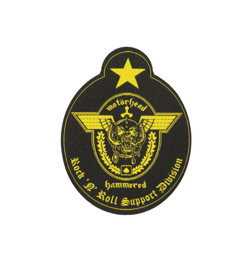 Motorhead - Support Division Cut Out Patch