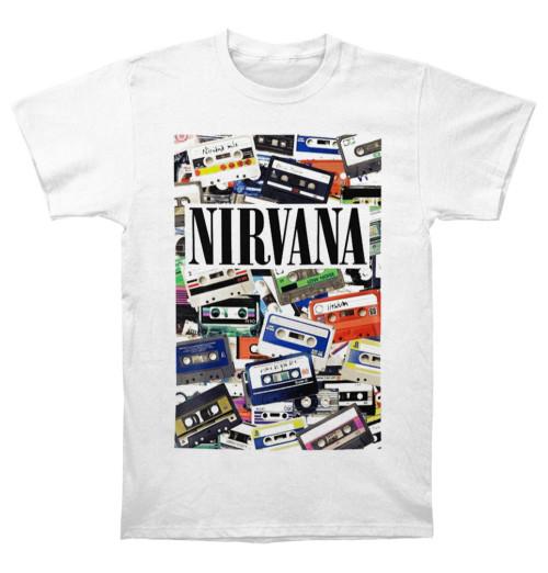 Nirvana - Cassettes White
