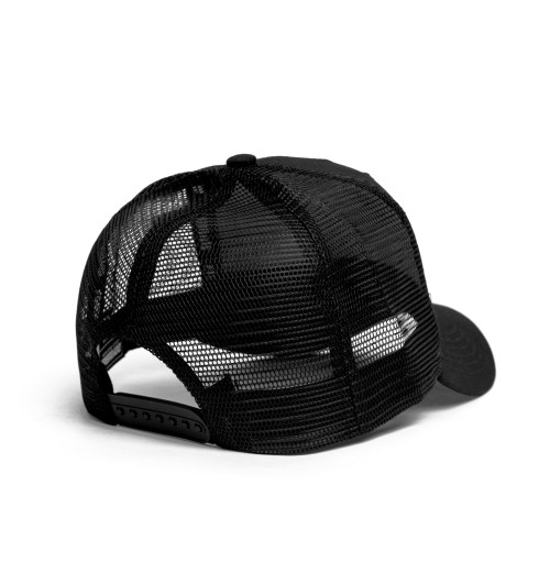 Queen - Logo Black Mesh Cap
