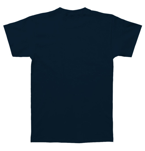 The Beatles - Help Silver Logo Navy