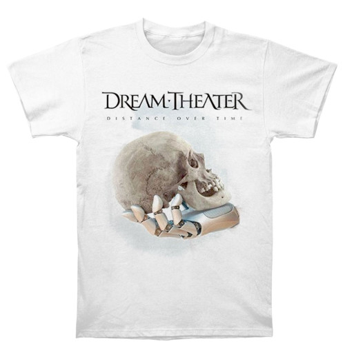 Dream Theater - Distance Over Time Cover White