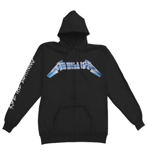 Metallica - Ride The Lightning Zip Hoodie