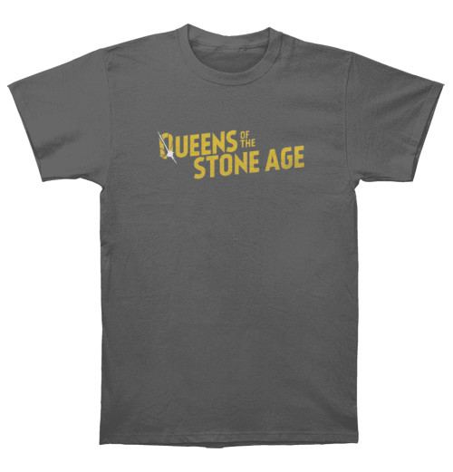 Queens Of The Stone Age - Text Logo Metallic