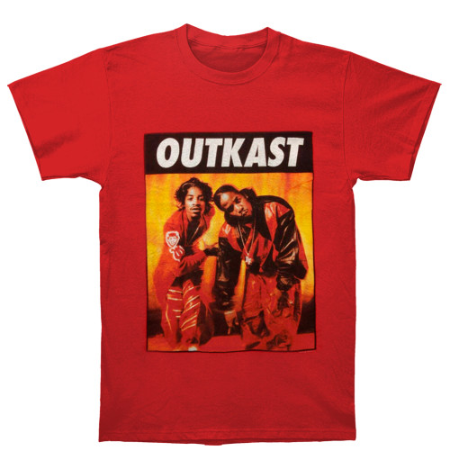 Outkast - Kneeling Photo Red