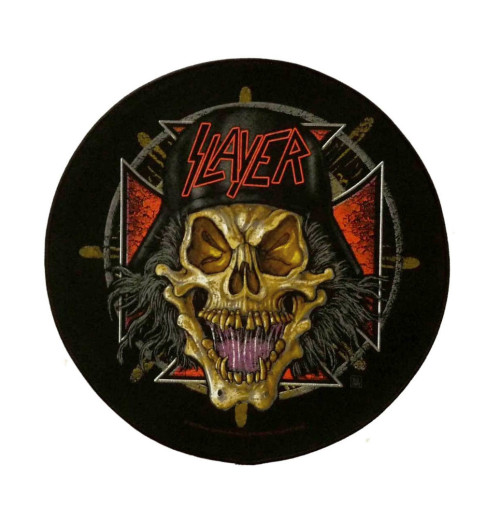 Slayer - Wehrmacht Circular Backpatch