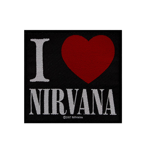 Nirvana - I Love Nirvana Patch