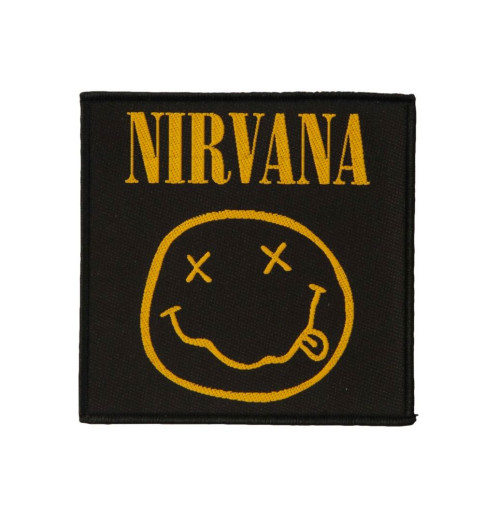 Nirvana - Smiley Patch