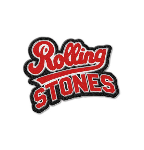 The Rolling Stones - Team Logo Cut Out Patch