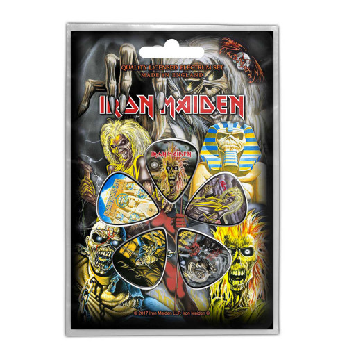 Iron Maiden - Early Albums Guitar Picks Plectrum Pack