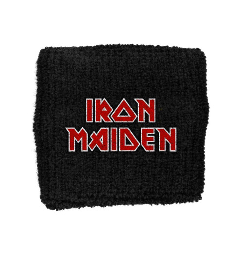 Iron Maiden - Red/White Logo Retail Packaged Wristband