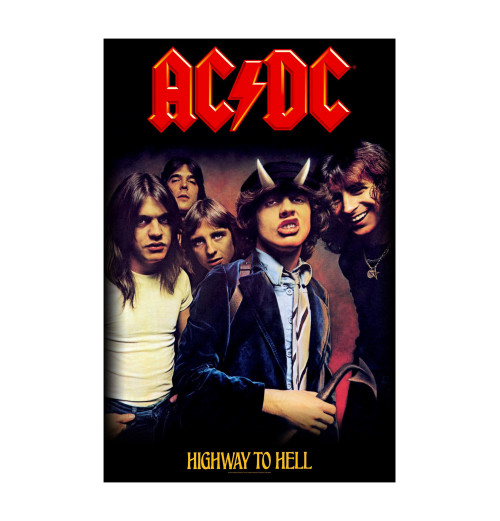 ACDC - Highway To Hell Textile Poster