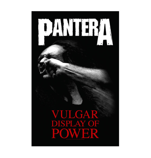 Pantera - Vulgar Display Of Power Textile Poster