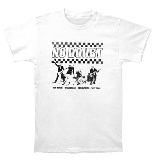 No Doubt - Chequer Distressed