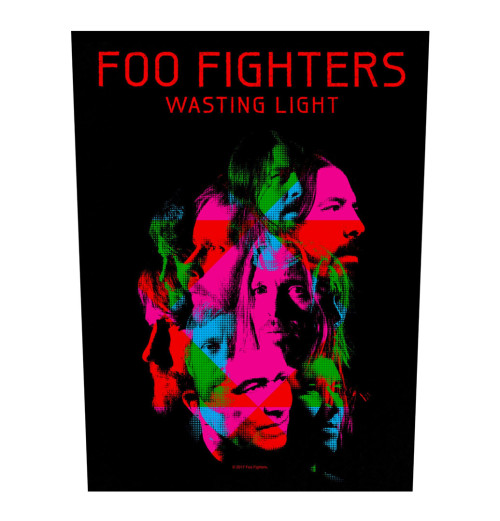 Foo FIghters - Wasting Light Backpatch