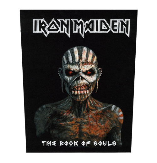 Iron Maiden - The Book Of Souls Backpatch