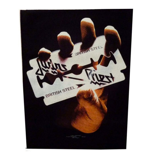 Judas Priest - British Steel Backpatch