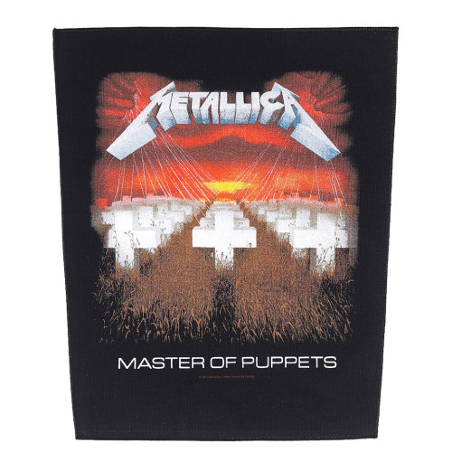 Metallica - Master Of Puppets Backpatch