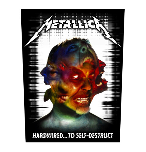 Metallica - Hardwired To Self Destruct Backpatch