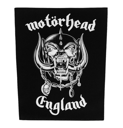 Motorhead - England Backpatch