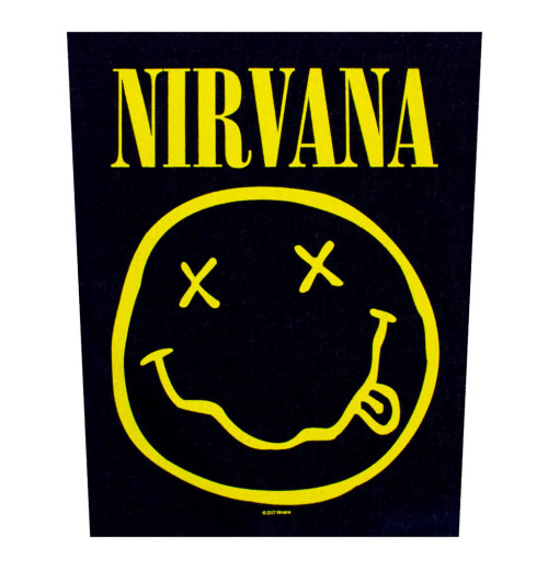 Nirvana - Smiley Backpatch