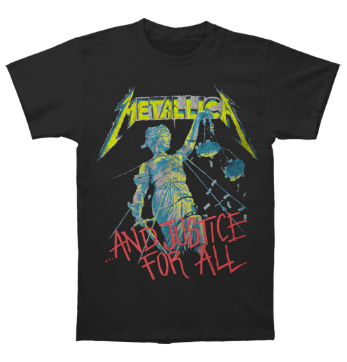 Metallica - And Justice For All Black