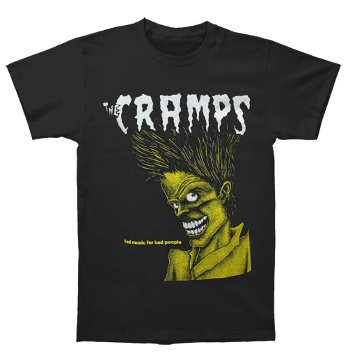 The Cramps - Bad Music For Bad People Black