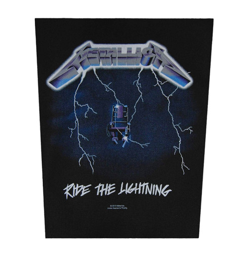 Metallica - Ride The Lightning Backpatch