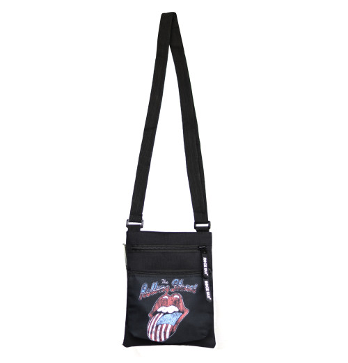 The Rolling Stones - Distressed USA Tongue Body Bag