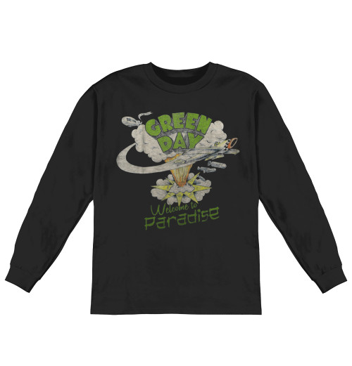 Green Day - Welcome To Paradise Longsleeve
