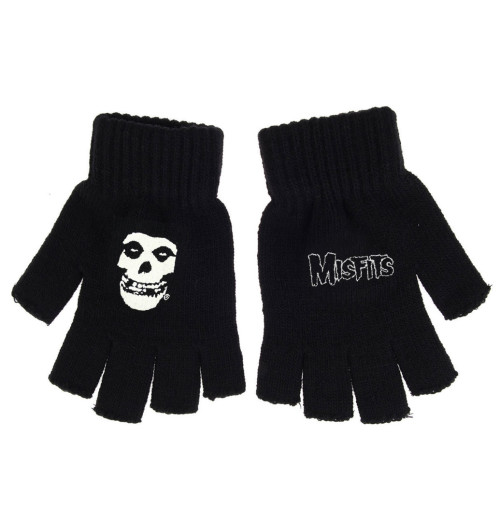 Misfits - Logo & Fiends Fingerless Gloves