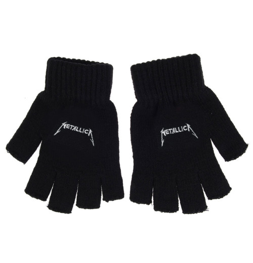 Metallica - Logo Fingerless Gloves