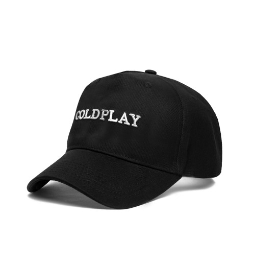 Coldplay - White Logo Baseball Cap