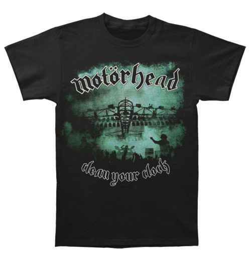 Motorhead - Clean Your Clock Green