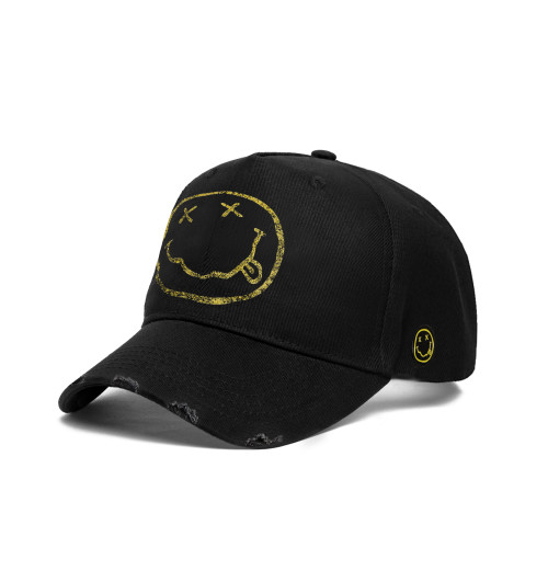 Nirvana - Smiley Baseball Cap
