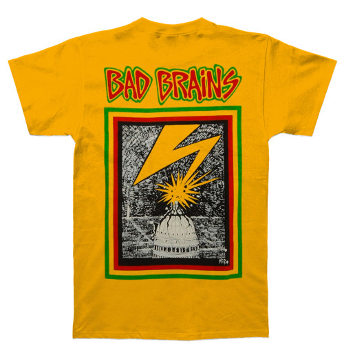 Bad Brains - Front Logo Yellow