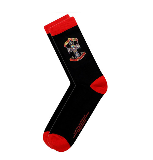 Guns N Roses - Appetite Cross Socks