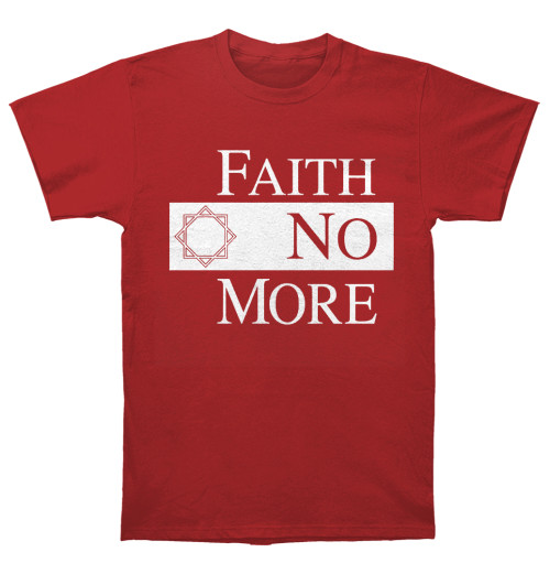 Faith No More - Classic New Logo Star Red