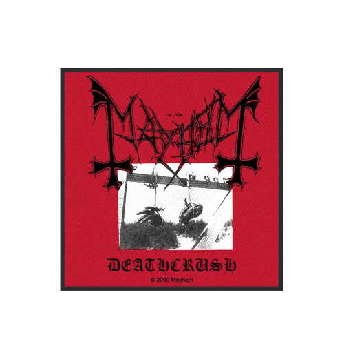 Mayhem - Deathcrush Standard Patch
