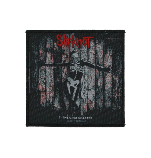 Slipknot - The Gray Chapter Retail Packaged Patch