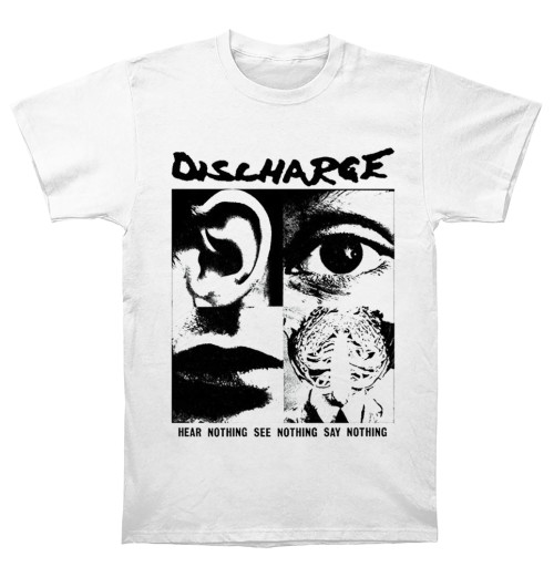Discharge - Hear Nothing White