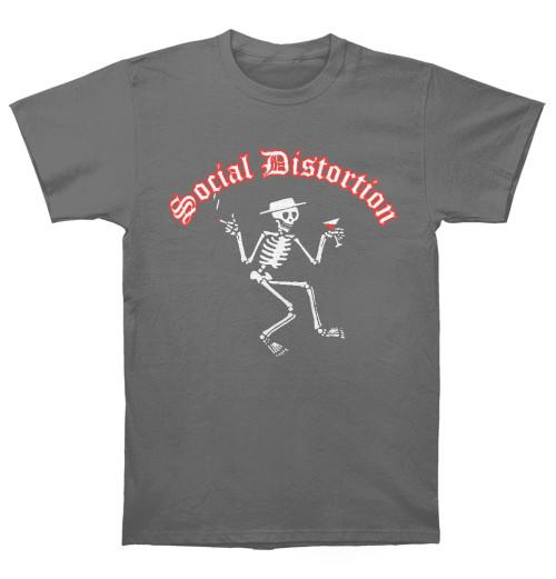 Social Distortion - Skelly Logo Grey