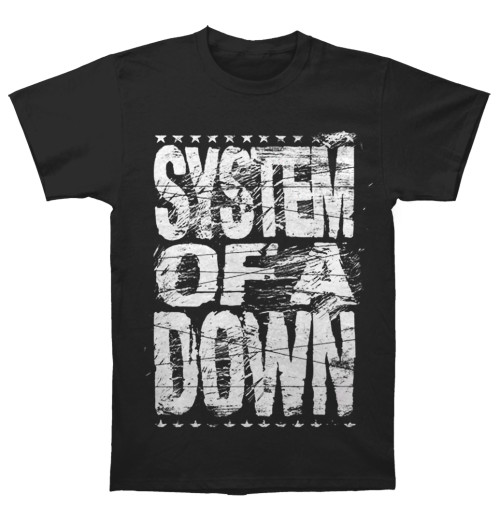 System Of A Down - Distressed Logo