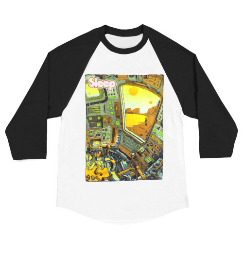 Sleep - Planet Iommia Baseball Shirt