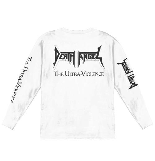 Death Angel - The Ultra Violence White Longsleeve