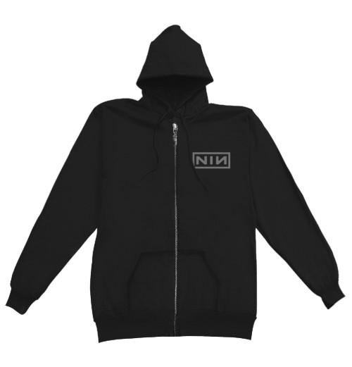 Nine Inch Nails - Classic Black Logo Zip Hoodie