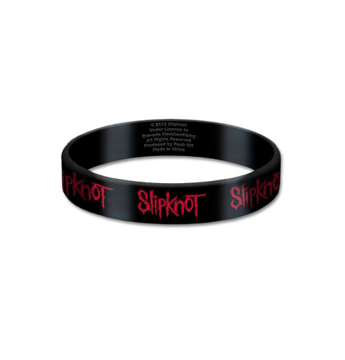 Slipknot - Logo Gummy Wristband