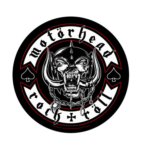 Motorhead - Biker Backpatch